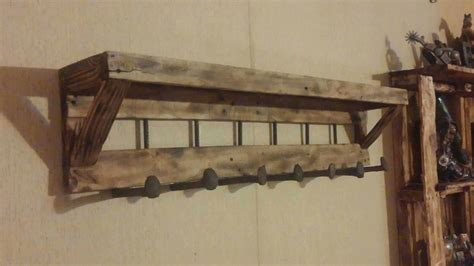 gestell regal pallet coat rack with shelf 1001 pallets