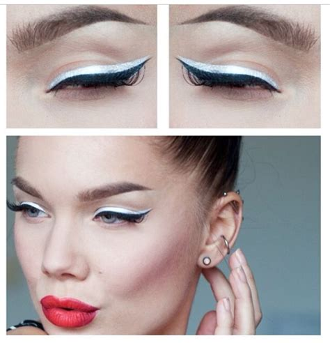 Eyeliner White 11 different ways to use white eyeliner pencil
