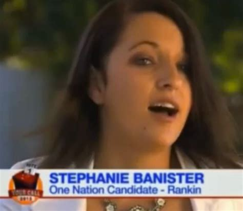 stephanie banister interview australian politician claims jews follow jesus so that