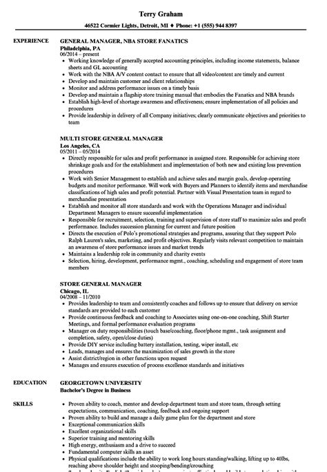 Recruitment Manager Resume Sample by General Manager Resume Template Samples Of High