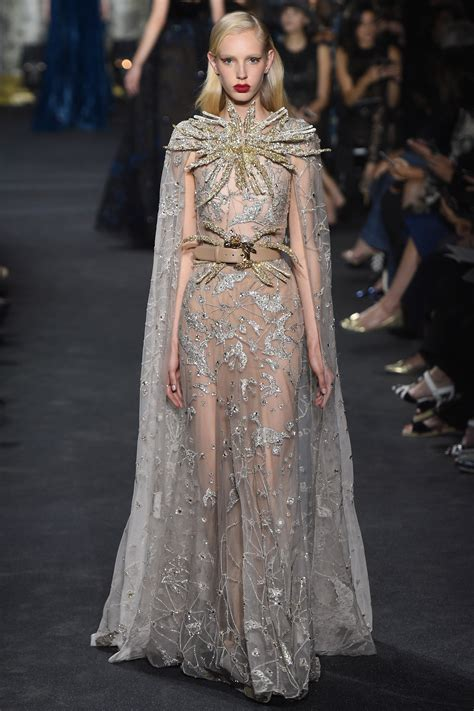Motley Couture Couture In The City Fashion by Elie Saab Fall Winter 2016 Haute Couture Fashion