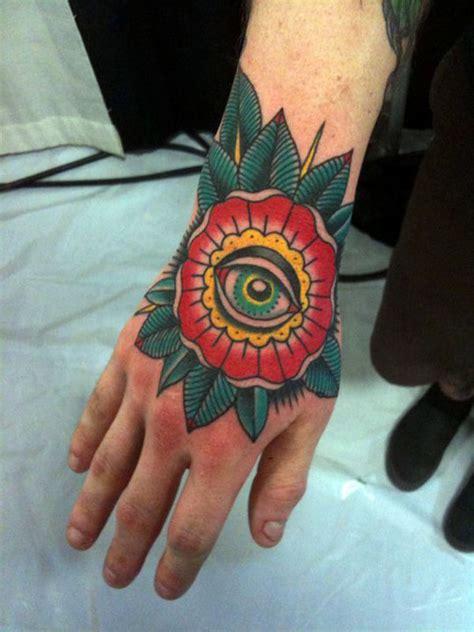 tattoo old school third eye 30 creative hand tattoo designs tattoo collections