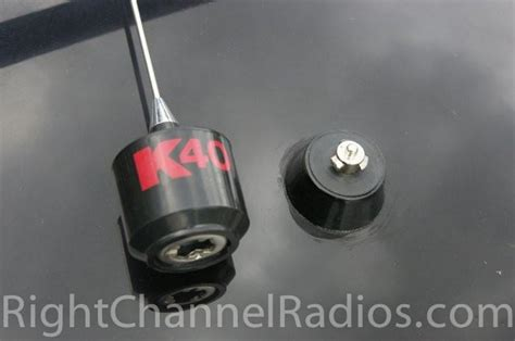 k40 magnet mount cb antenna right channel radios