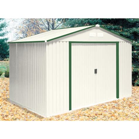 Duramax Steel Sheds by Duramax 174 10x8 Colossus Metal Shed With Foundation
