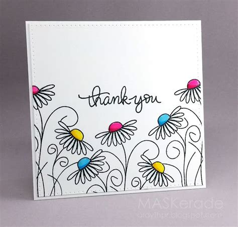 Ideas For Handmade Thank You Cards - 25 best ideas about thank you greeting cards on