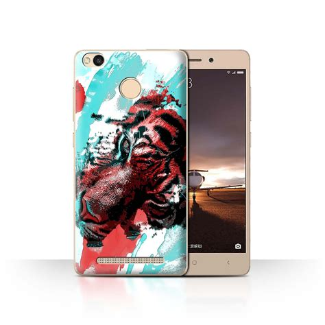 Garskin Xiaomi Redmi 3s Pro Motif Ajib 2 stuff4 phone cover for xiaomi redmi 3 pro 3s prime tiger painting design fragments