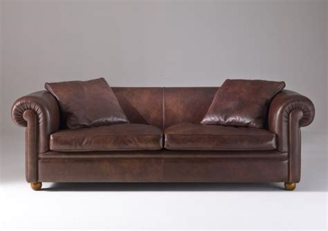 divani classici pelle divano classico york berto salotti