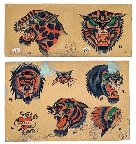 tattoo flash vintage vintage tattoo flash p13 vintage flash pinterest