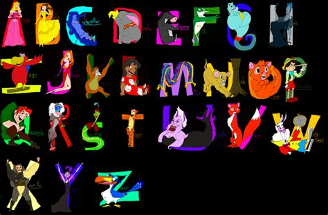 disney alphabet 5 best images of disney printable alphabet letter h