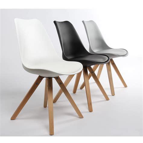 Lot De Chaise Design by Lot De 2 Chaises Design Ormond Wood Par Drawer Fr