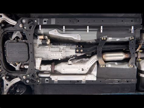 mazda rx8 cat catalytic converter heat shield with aftermarket cat