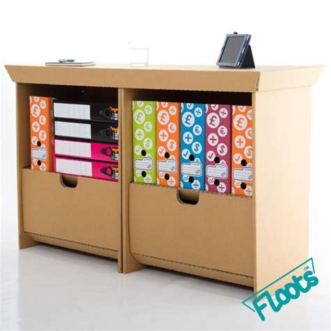 Cardboard Drawer Unit by Eco Drawer Unit Eco Floots Cardboard Furniture