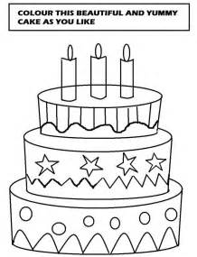 cake coloring pages beautiful cake coloring printable page for