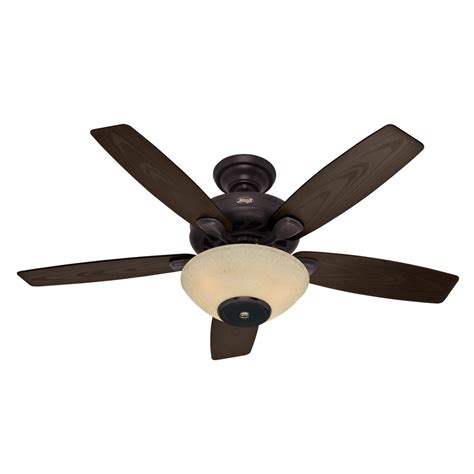 Shop Hunter Concert Breeze 52 In New Bronze Outdoor Outdoor Ceiling Fans With Lights And Remote