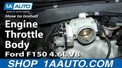 install replace engine throttle body   ford