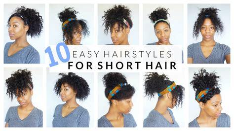 easy hairstyles  short medium curly hair youtube