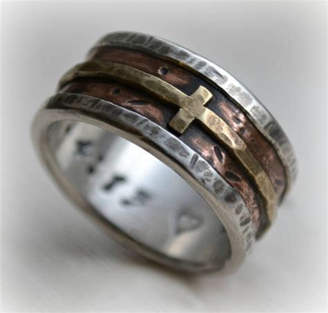 Wedding Bands With Crosses by 15 Collection Of Mens Wedding Bands With Cross