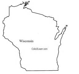 of wisconsin colors state of wisconsin flag and map coloring pages