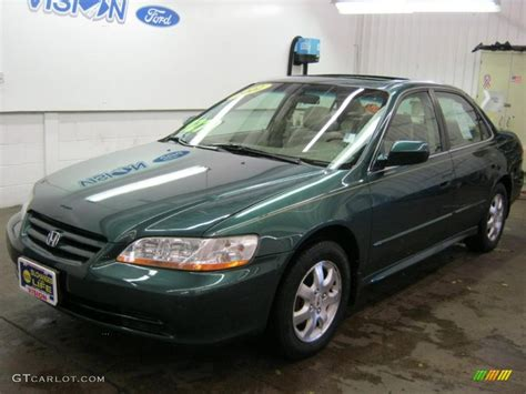 2002 green honda accord 2002 noble green pearl honda accord se sedan 38549617