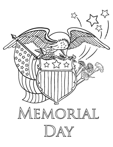 free printable coloring pages memorial day free memorial day coloring page