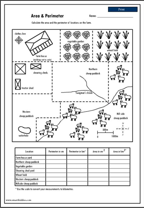 printable area and perimeter games maths is fun perimeter worksheets perimeter worksheets