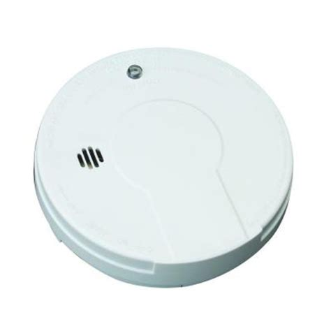 kidde battery operated ionization smoke alarm with test button