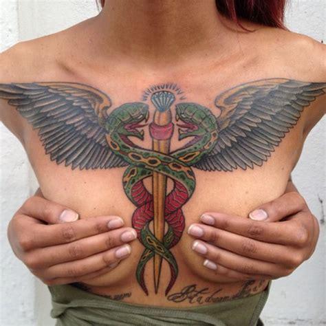 caduceus tattoo 35 caduceus designs for you all