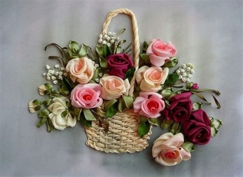 ribbon embroidery silk flowers to make pinterest beautiful roses and ribbon embroidery
