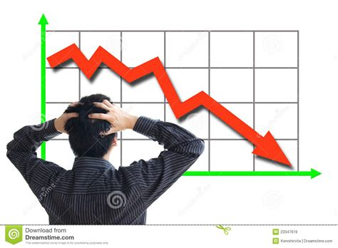 clip stock stock price declining stock image image of asian