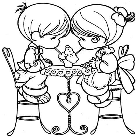 imagenes para pintar de amor dibujos para imprimir y colorear precious moments para