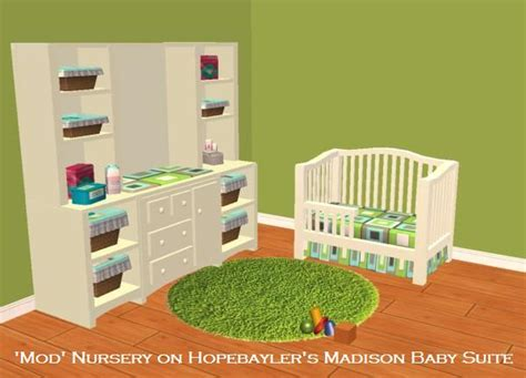 Complete Nursery Furniture Set Mod The Sims Mod Nursery Sets Check Out The New Versions