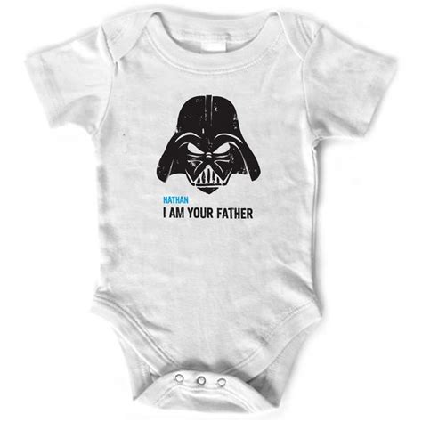 Star wars i am your father personalized onesie baby clothes