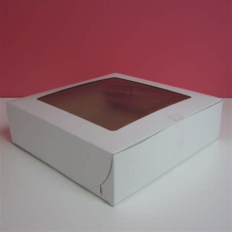pie boxes with windows 9x9x2 5 white pie box with window