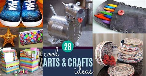 cool craft ideas cool arts and crafts ideas for diy projects for
