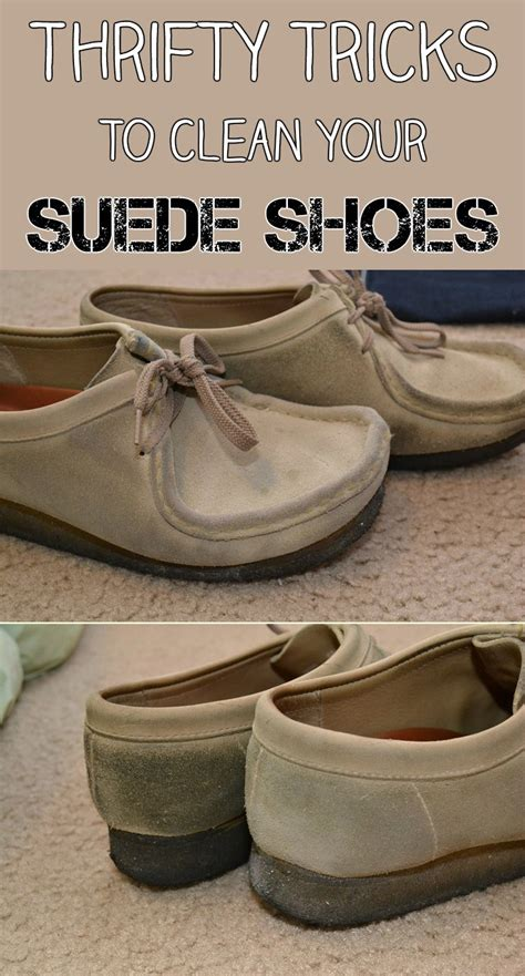 thrifty tricks to clean your suede shoes