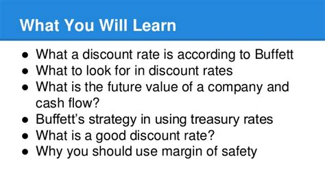 discount rates a simple explanation to investment discount rates