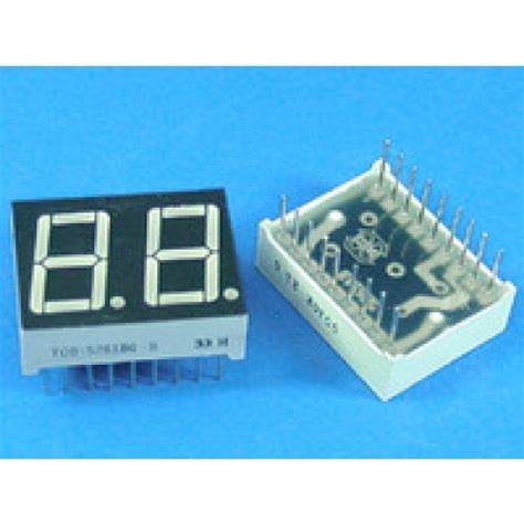 cathode led display led display 7 segment 2 digit 0 56 inch common cathode ultra 15524 ucd