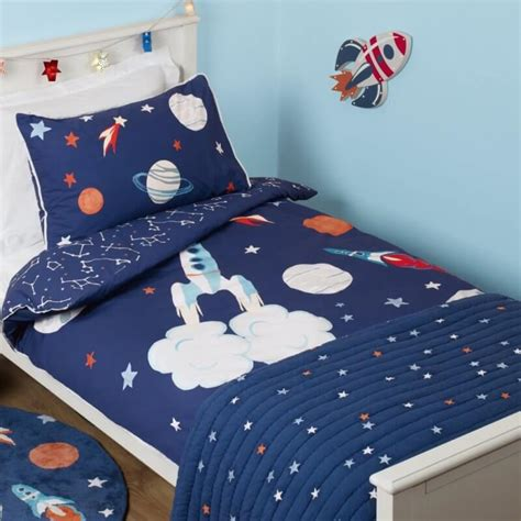 outer space comforter kid s space theme bedding sets children s room