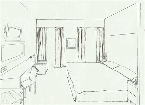 draw a room online bed drawings and design cool cartoon background how easy
