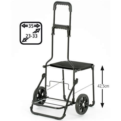 si鑒e pliant caddie chariot de courses sac noir 49 litres isotherme