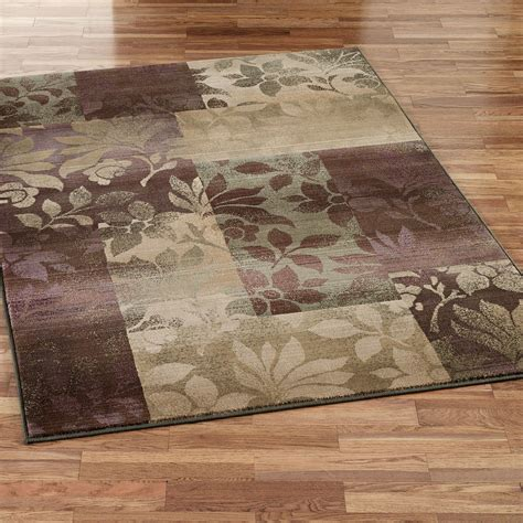area rug leaf collage area rugs