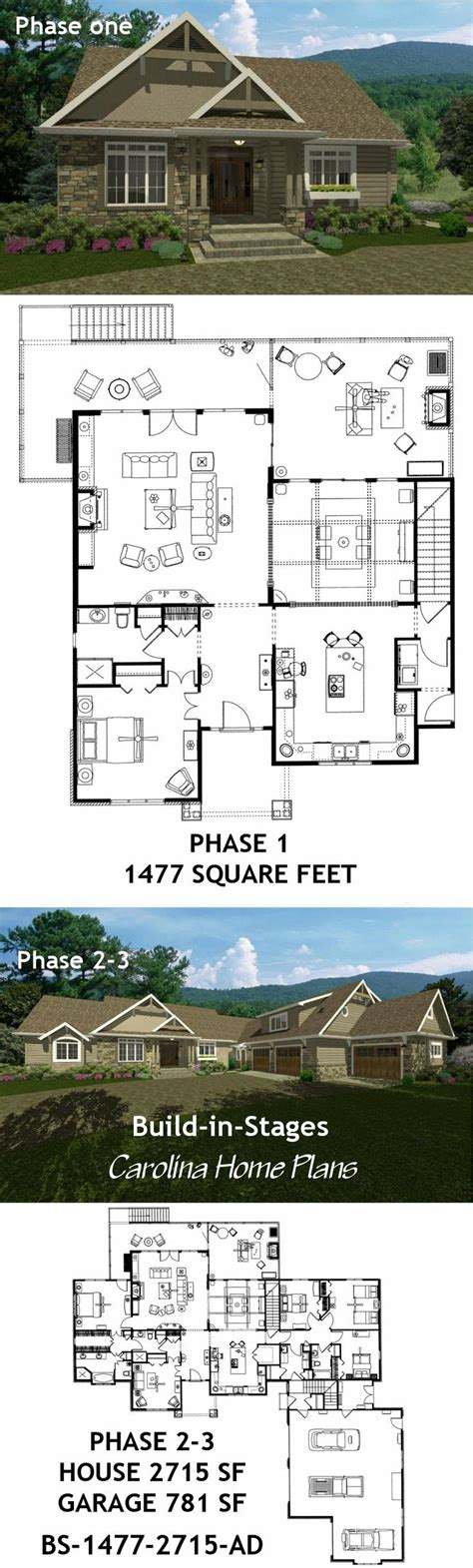 house plans that can be built in stages plan to build a house stages house plans