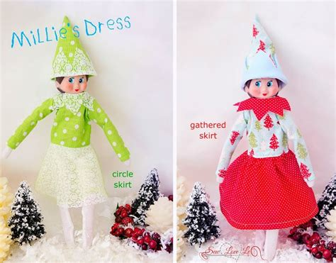 pattern for elf clothes sewlovele elf on the shelf clothes our elf on the shelf