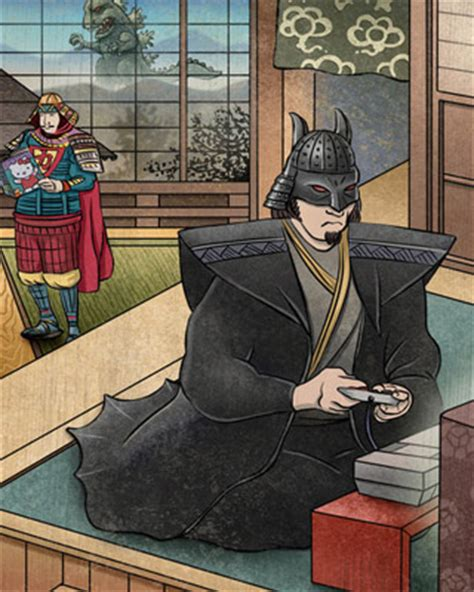 Batman Japan Logo 1 batman superman and in feudal japan