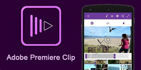 free app android adobe premiere clip app android free