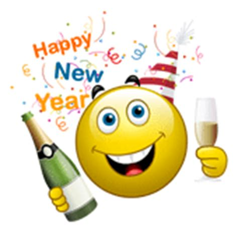 happy new year smileys animated 8 best happy new year smileys smiley symbol