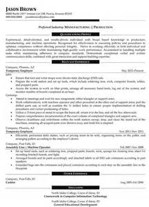 Manufacturing Executive Sle Resume by Operations Resume Exles Resume Professional Writers