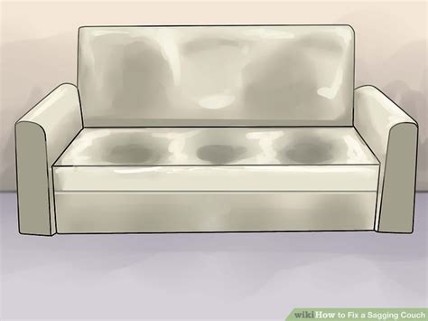 Sinking Sofa Fix by How To Fix A Sagging 14 Steps With Pictures Wikihow