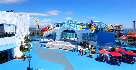 Drink Coaster by Arctic Blast Attractions Park Experience Ocean Park