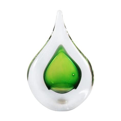 glass ornament glass teardrop ornaments jablonski green teardrop ornament